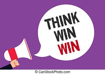 concetto, testo, concorrenza, scrittura, altoparlante, viola, strategia, fondo., discorso, modo, vincere, win., megafono, bolla, essere, presa a terra, affari, significato, grida, uomo, successo, sfida, scrittura, pensare