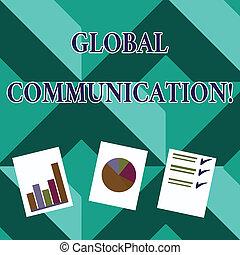 concetto, testo, globale, torta, collegare, modi, grafico, ...