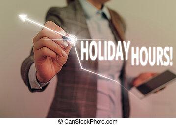 concetto, testo, personale, lavoro, scrittura, straordinario, significato, hours., sotto, scrittura, vacanza, flessibile, schedules.