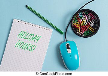 concetto, testo, personale, lavoro, straordinario, significato, hours., sotto, scrittura, vacanza, flessibile, schedules.