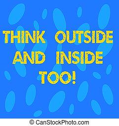 concetto, too., testo, casuale, forma, vuoto, ovale, differente, prospettiva, spazio, seamless, esterno, presentazione, manifesto, significato, copia, scrittura, card., dentro, vedere, problema, pensare