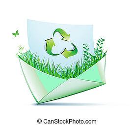 concetto, verde