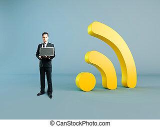 concetto, wi-fi