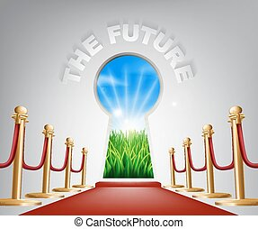 concettuale, futuro, illustrazione