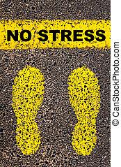 concettuale, message., stress, immagine, no