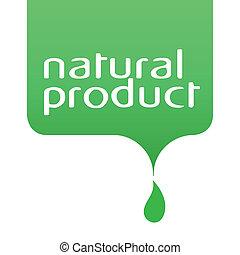 concettuale, prodotto, goccia, naturale