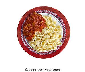 Conchiglie - italian pasta