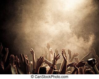 concierto, ambiente