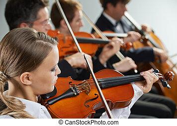 concierto, clásico, music: