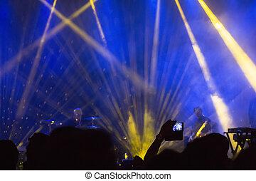 concierto música, fiesta