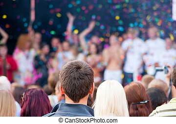 concierto popular de la música