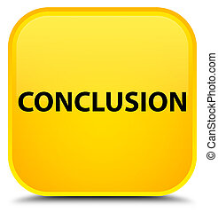 Conclusion special yellow square button