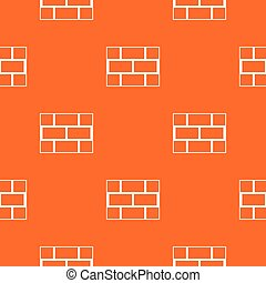 Concrete block wall pattern seamless