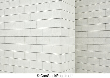 Concrete block wall texture