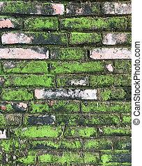 concrete brick block wall background