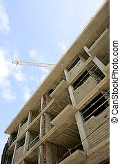 concrete building structure construction in europe