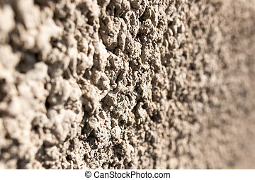 concrete coat on the wall as background