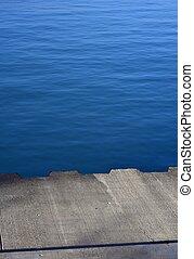 Concrete Lake Pier