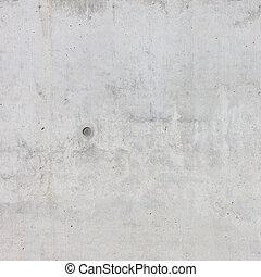 concrete muur, van, een, gebouw