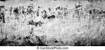 Concrete old wall blocks