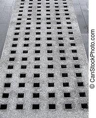 Concrete perforation