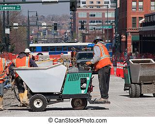Concrete Road Construction
