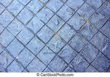 Concrete stamp Pattern for outdoor floor