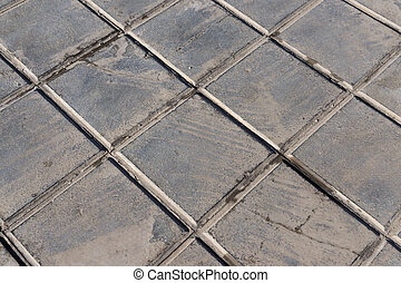 concrete tile for outdoor use Sidewalks, non-slip and wear resistance paving
