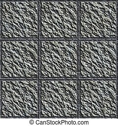 Concrete tiles. Seamless texture.