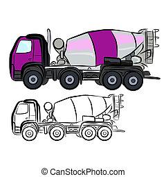 Concrete Truck Mixer