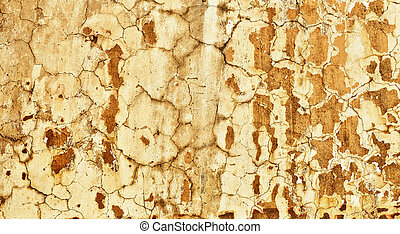 Concrete wall with old plaster - background