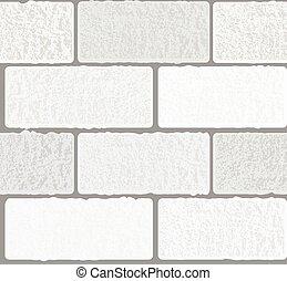 concrete white blocks on a grey background seamless