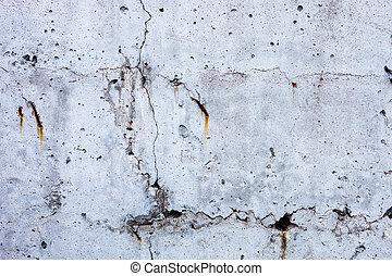 concreto, cinzento, superfície