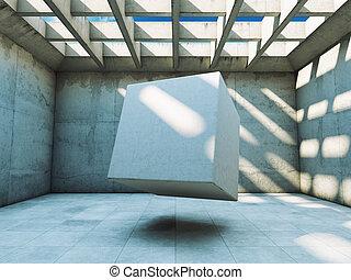 concreto, construção