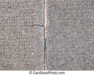 concreto, fesso