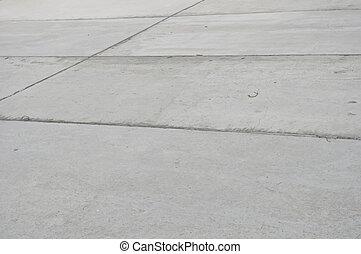 concreto, primer plano, losas