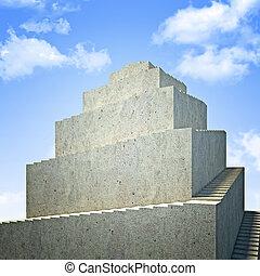 concreto, torre