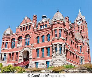 condado, jefferson, palacio de justicia