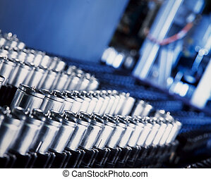 condensador, producción