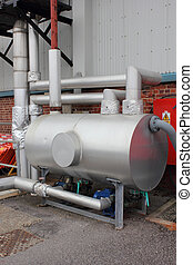 Condensate pumping set