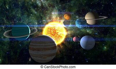 Condensed Solar System