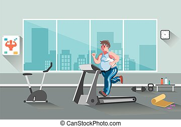 condicão física, desporto, homem