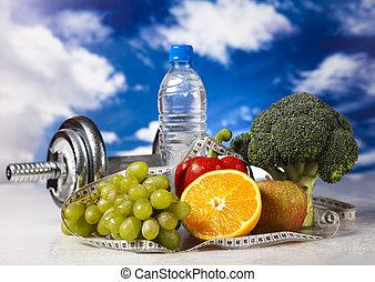 condicão física, dieta