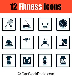 condicão física, jogo, ícone