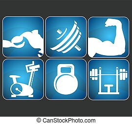 condicão física, jogo, sinais