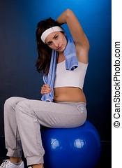 condicão física, mulher
