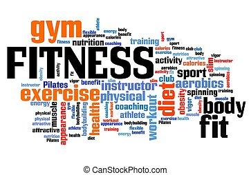 condicão física, palavras