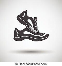 condicão física, sneakers, ícone