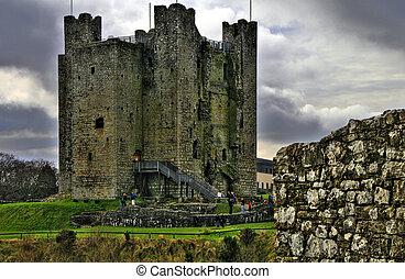condición, -, alrededores, irlanda, castillo, beautifull