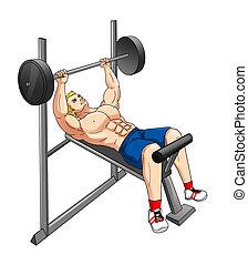 condición física, banco del peso